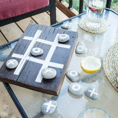 DIY Tic-tac-toe game