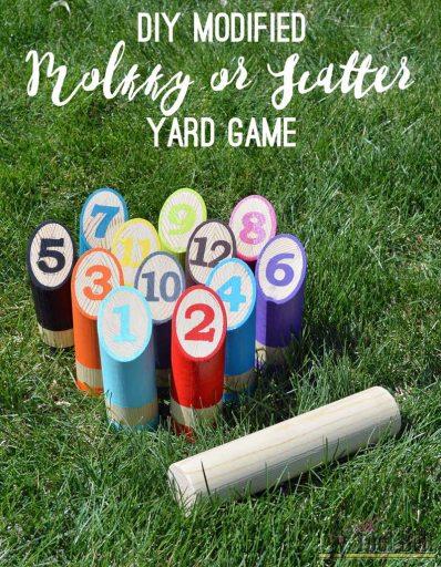 Molkky Scatter yard game