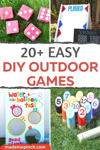 DIY Outdoor games pin