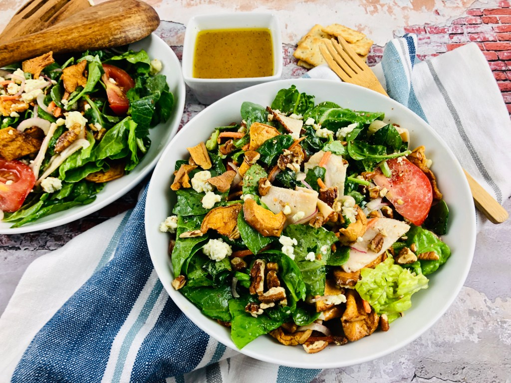 Panera Apple Salad in bowls