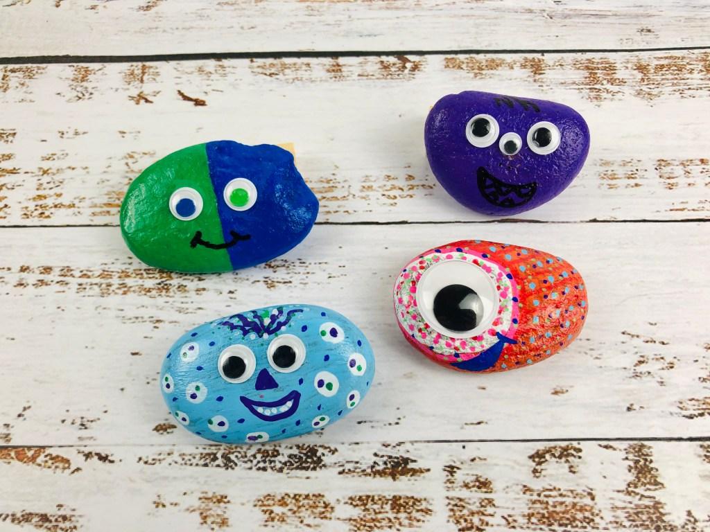 painted pet rocks