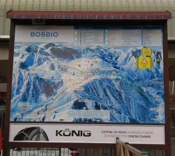 Plan de la station Piani di Bobbio