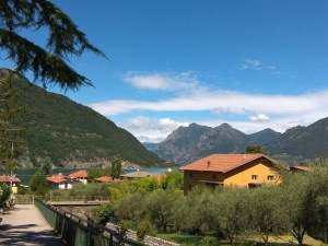 Sentier lac Iseo