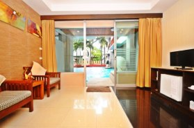 Chambre piscine hôtel koh lanta 2