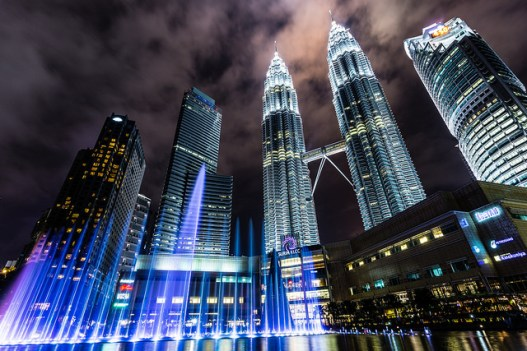 KLCC tours fontaines Colin Cronin