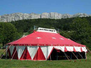 Chapiteau cirque La Bonne Etoile