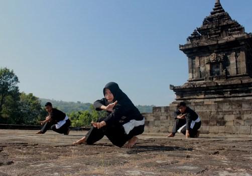 Silat art martial malaisien