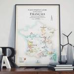 Affiches Régions viticoles française 1
