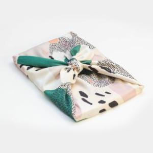 Emballage cadeau tissu