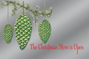 The Christmas Store Is Open
