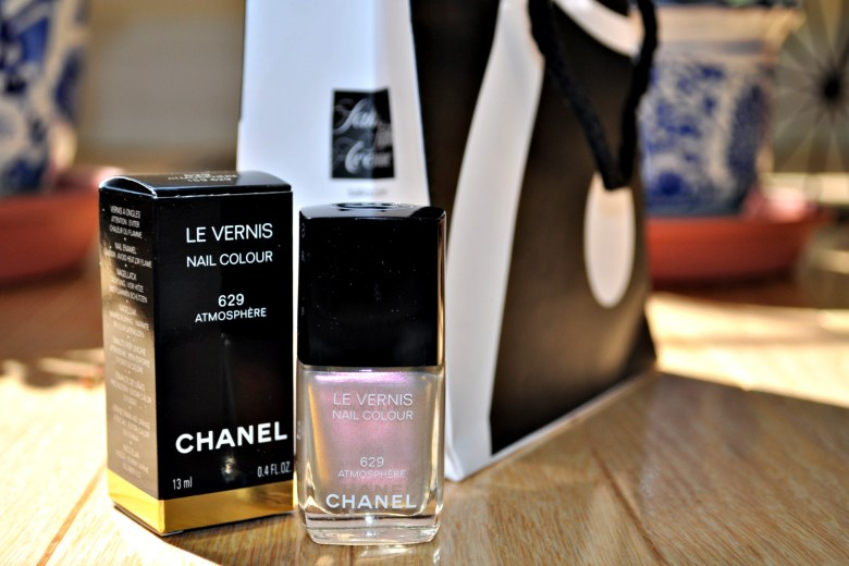 Chanel Nail Polish Giveaway: Check out www.madeinmauve.com for more details