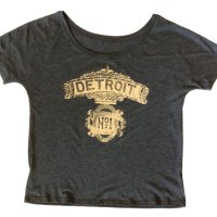 Detroit No. 1 Slouchy T-shirt