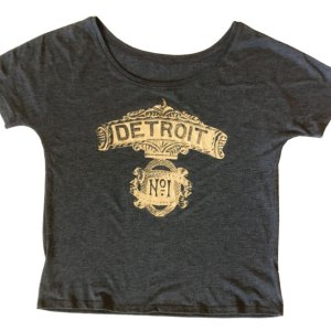 Detroit No. 1 Slouchy T-shirt
