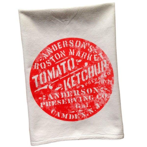 Vintage Graphic Anderson's Ketchup Towel