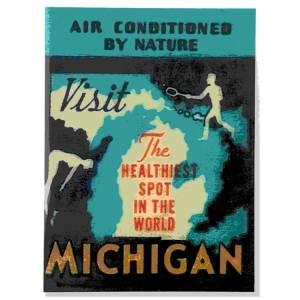 Visit Michigan Magnet