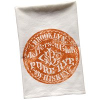 Vintage Graphic Jefferson Club Whiskey Towel