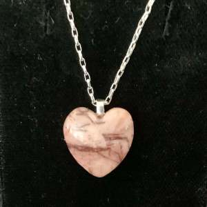 Small Kona Dolomite Heart Necklace