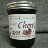 Beckey's Kountry Kitchen Chocolate Cherry Jam