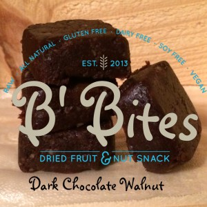 Dark Chocolate Walnut Energy Bites