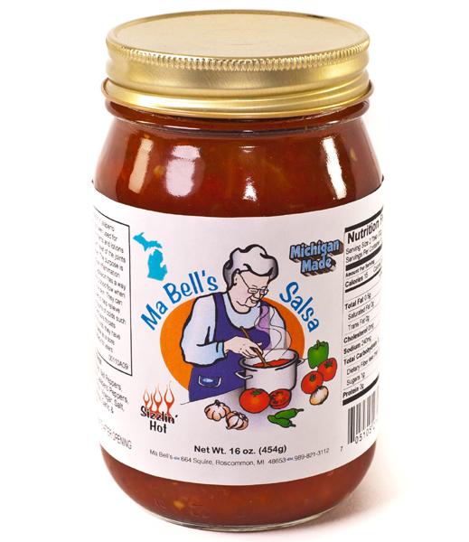 Ma Bell's Sizzlin' Hot Salsa