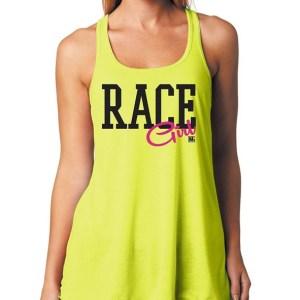 Flowy Race Girl Tank Top