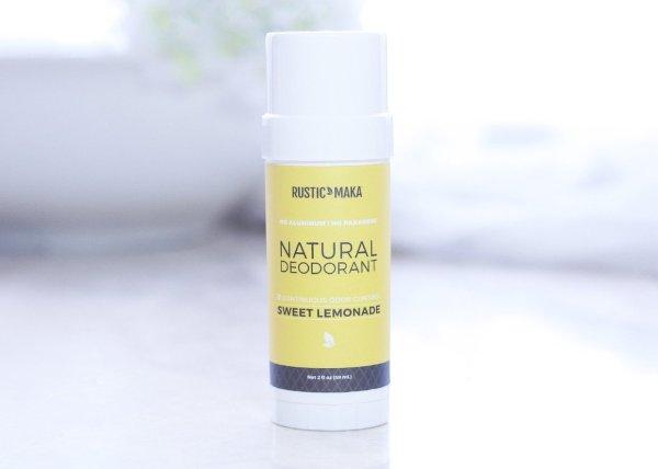 Sweet Lemonade Natural Deodorant
