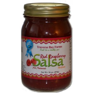 Traverse Bay Farms Red Raspberry Salsa