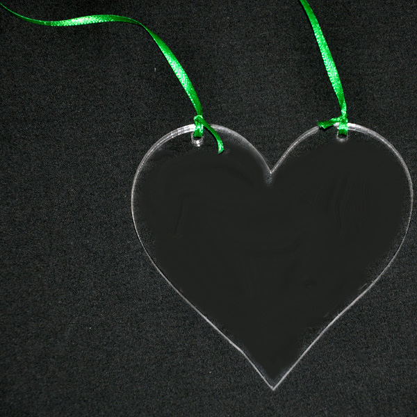 Heart Acrylic Ornament