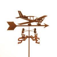 Airplane Lo Wing Weathervane