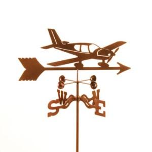 Airplane Lo Wing Weathervane