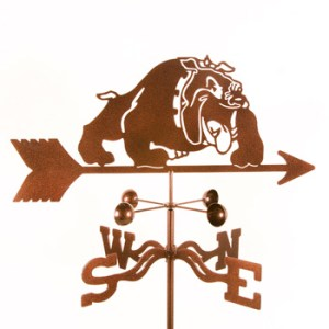 Bulldog Weathervane