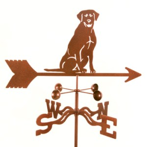 Lab Sitting Weathervane