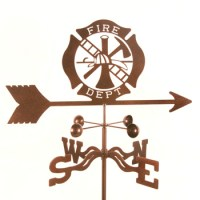 Fire Department Weather Vane