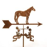 Horse – Quarter Horse Weathervane