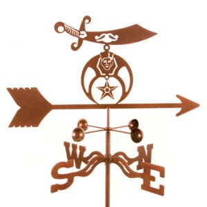 Shriner Weather Vane