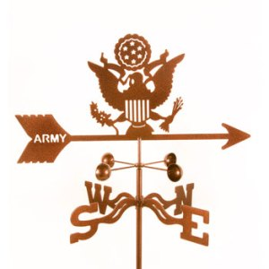 Army Weather Vane