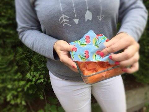 Cherry Beeswax Food Wrap