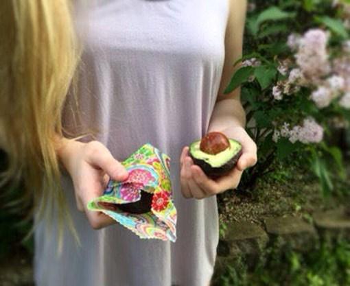 Eco Friendly Reusable Beeswax Food Wrap