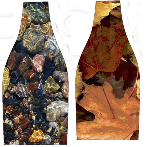 Beach Stones - Fall Leaves
