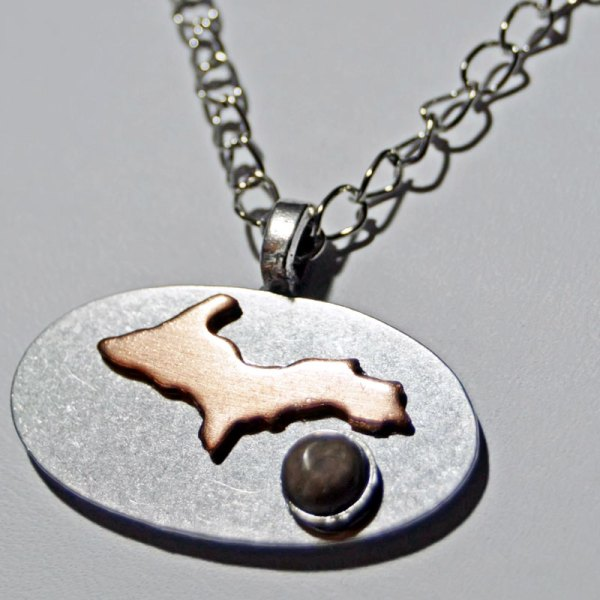 Petoskey Stone Upper Michigan Necklace