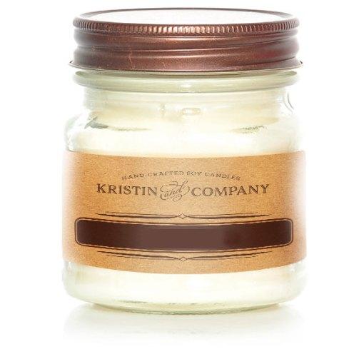 Kristin and Company Limited 8 oz Mason Jar Candles