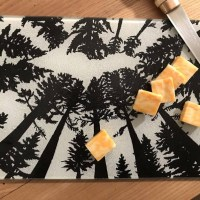 UP Michigan Treetops Cutting Board