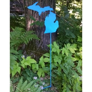 Blue Michigan Garden Stake