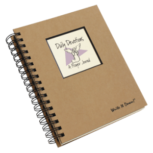 Daily Devotions – A Prayer Journal