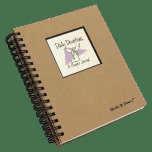 Daily Devotions – A Prayer Journal