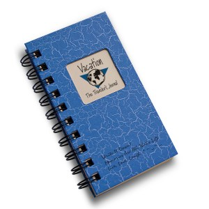 Vacation The Travelers Journal – Blue Mini