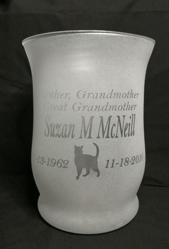 Personalized Engraved Wavy Vase Made In Michigan Products Gifts