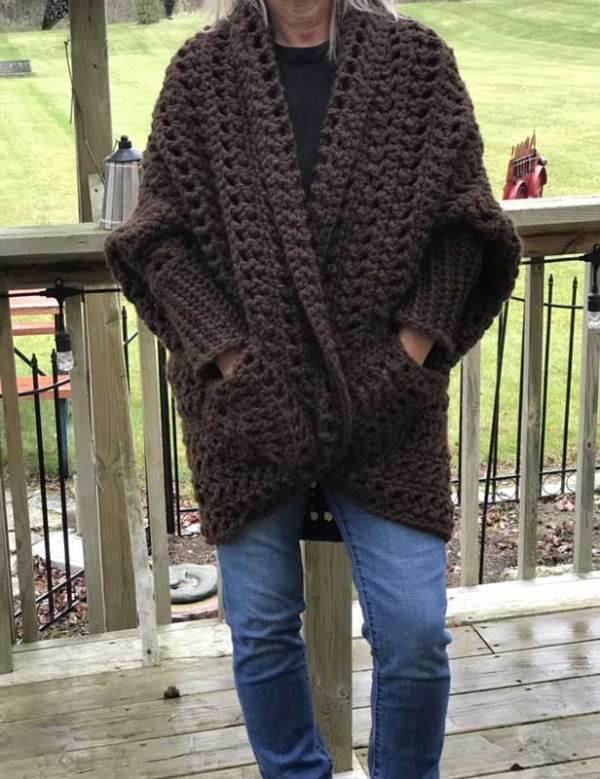 Crochet Granny Sweater