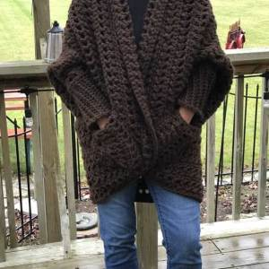 Crochet Granny Sweater