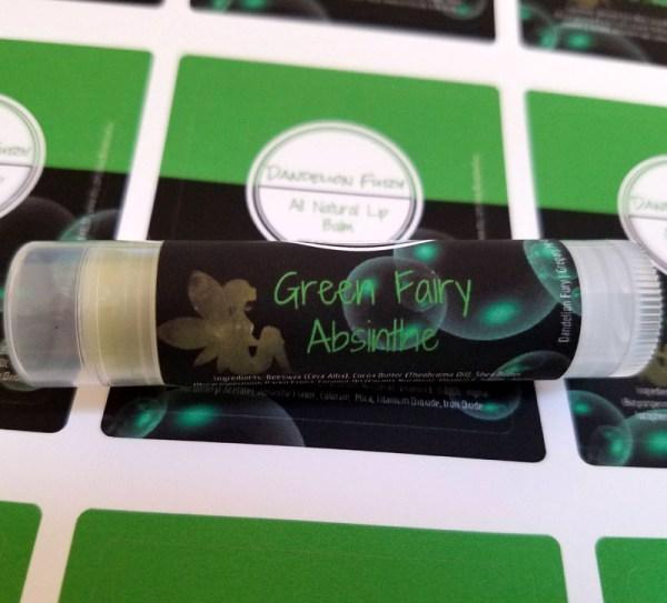 Green Fairy Absinthe Lip Balm